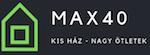 MAX40.HU Logo